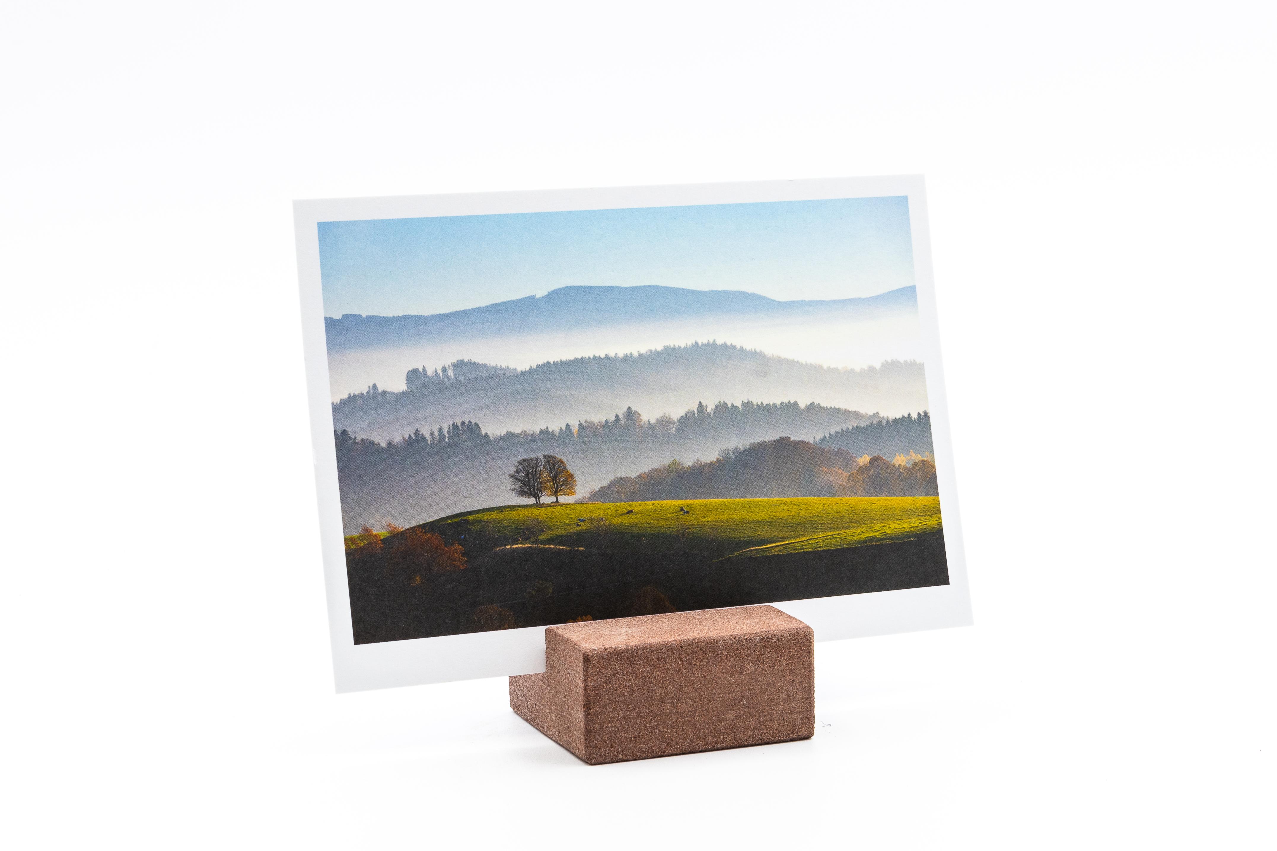 Sandstein Kartenhalter