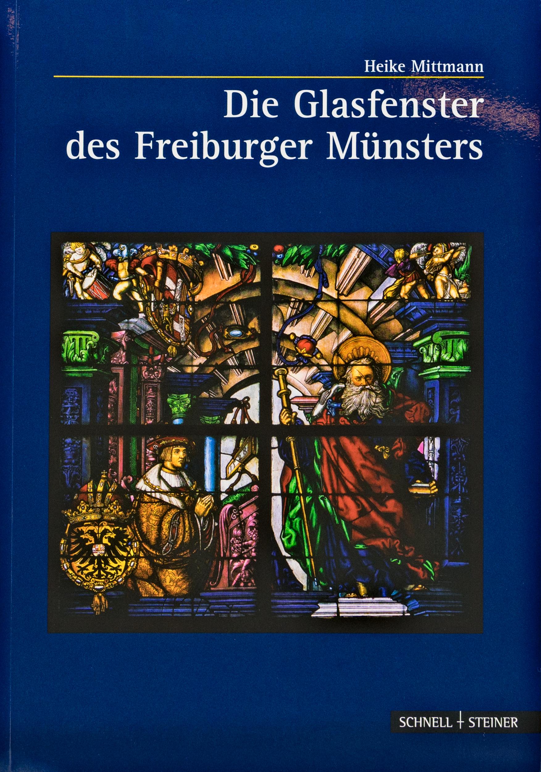 Münsterladen Freiburg Buch Geschenk Glasfenster des Freiburger Münsters