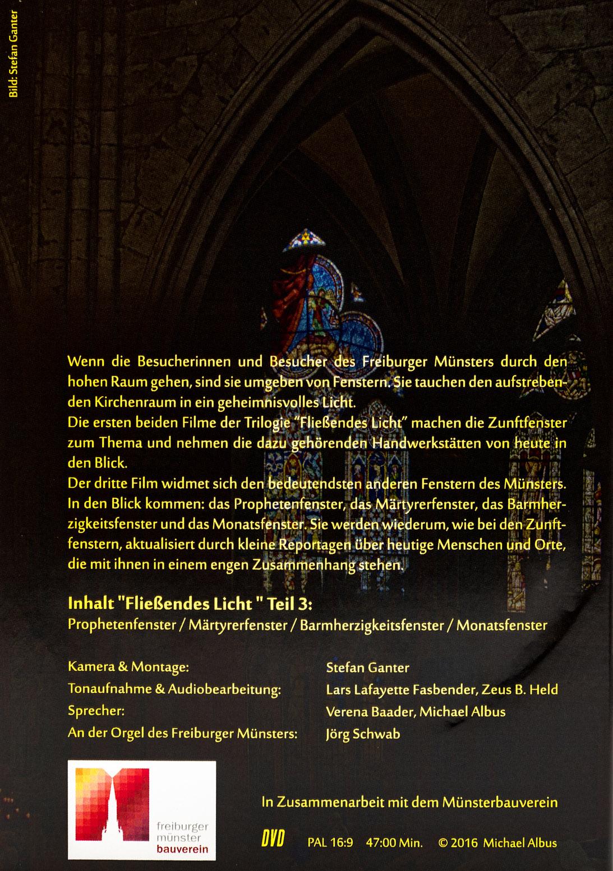 Münsterladen Freiburg DVD Fließendes Licht 3