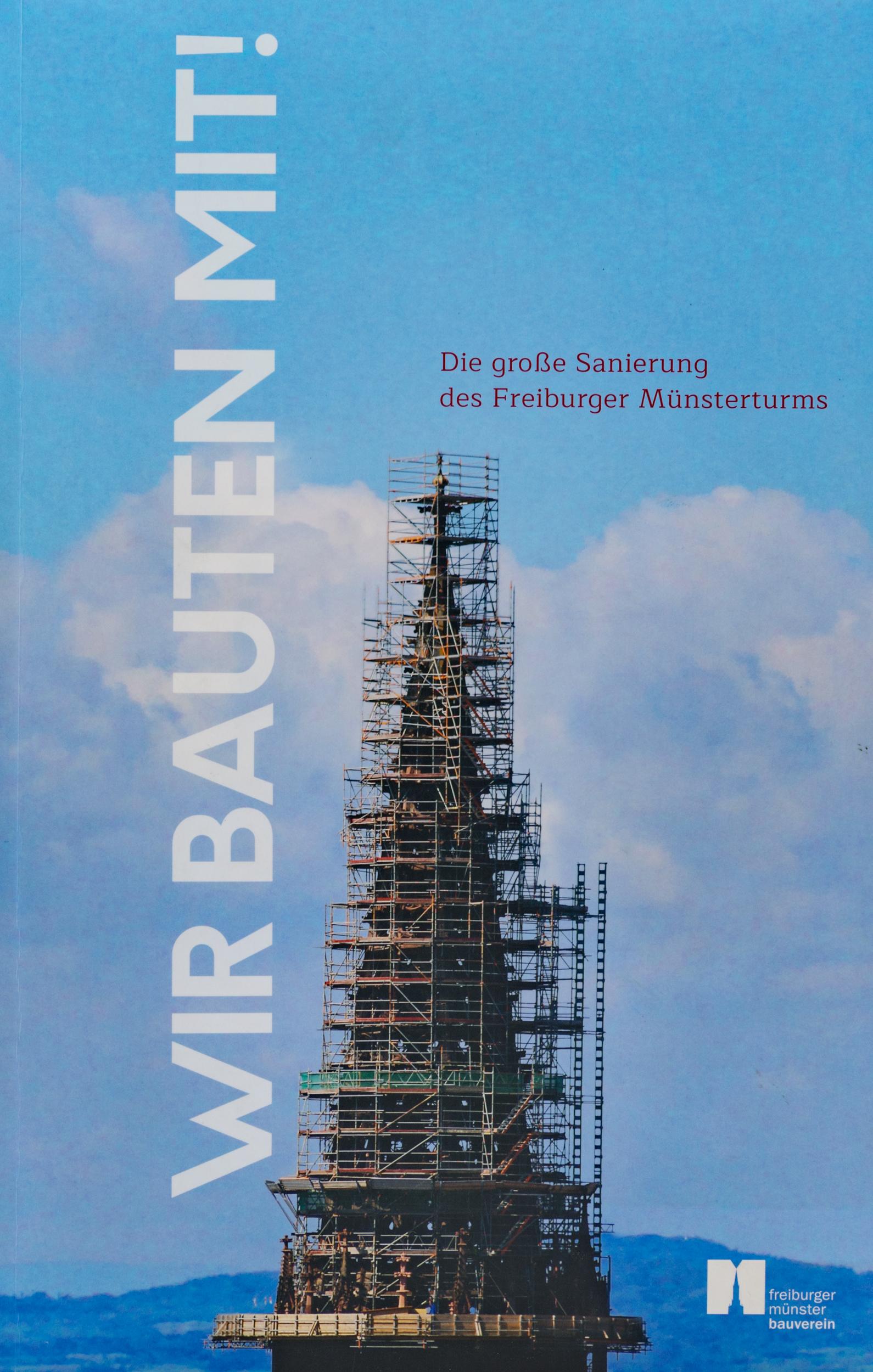 Münsterladen Freiburg Buch Geschenk Wir bauten mit Sanierung des Freiburger Münsters