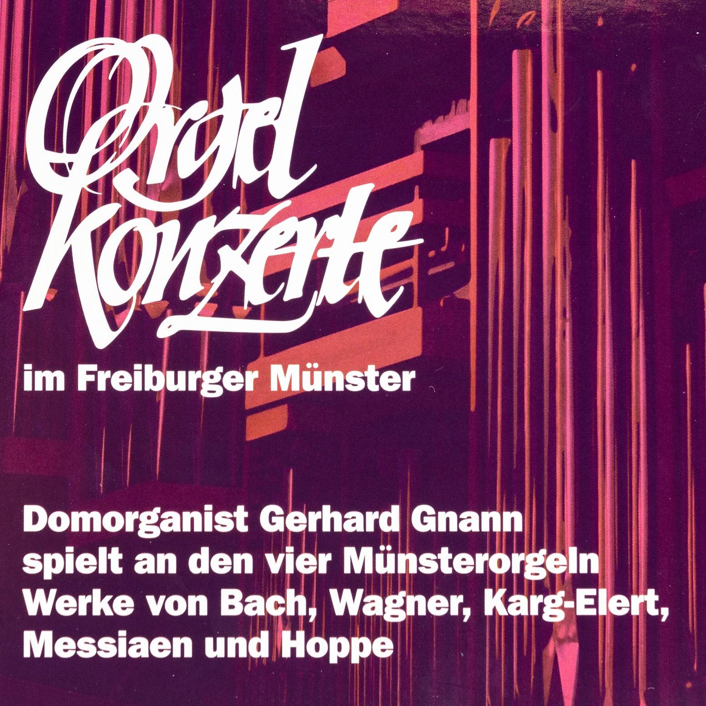 Münsterladen Freiburg Musik CD Gnann Orgelkonzerte
