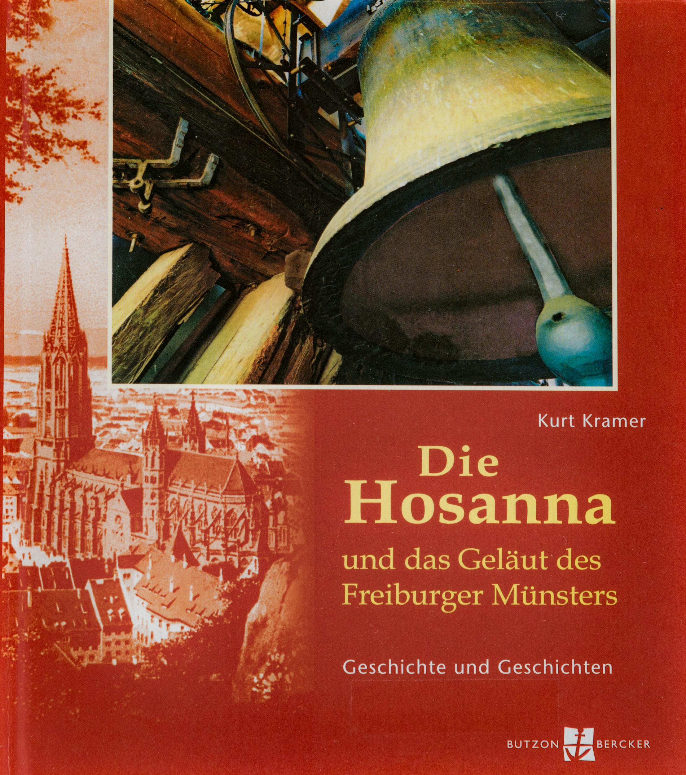 Münsterladen Freiburg Buch Geschenk Die Hosanna Glocken des Freiburger Münsters