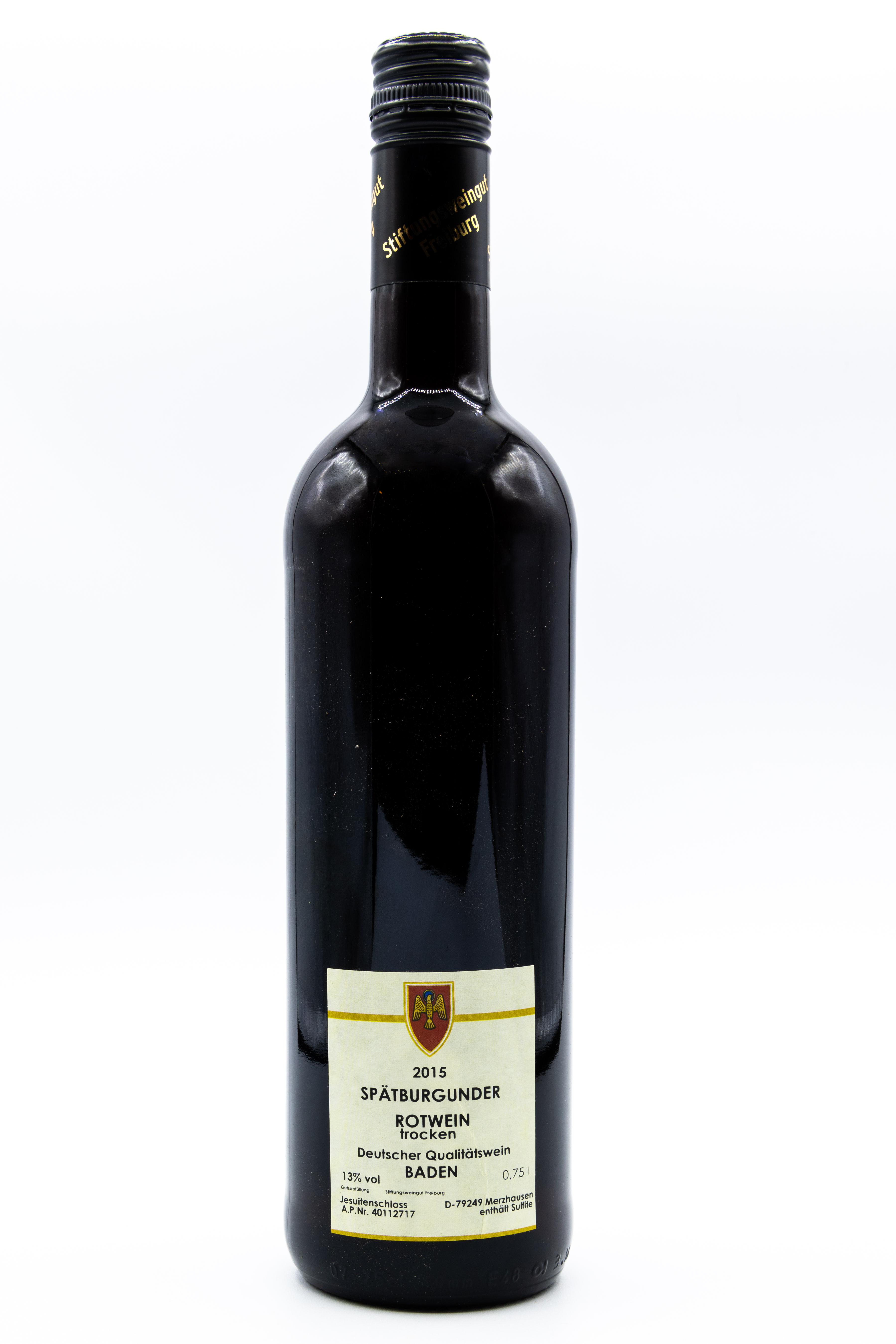 Spätburgunder Rotwein trocken, 0,75 l
