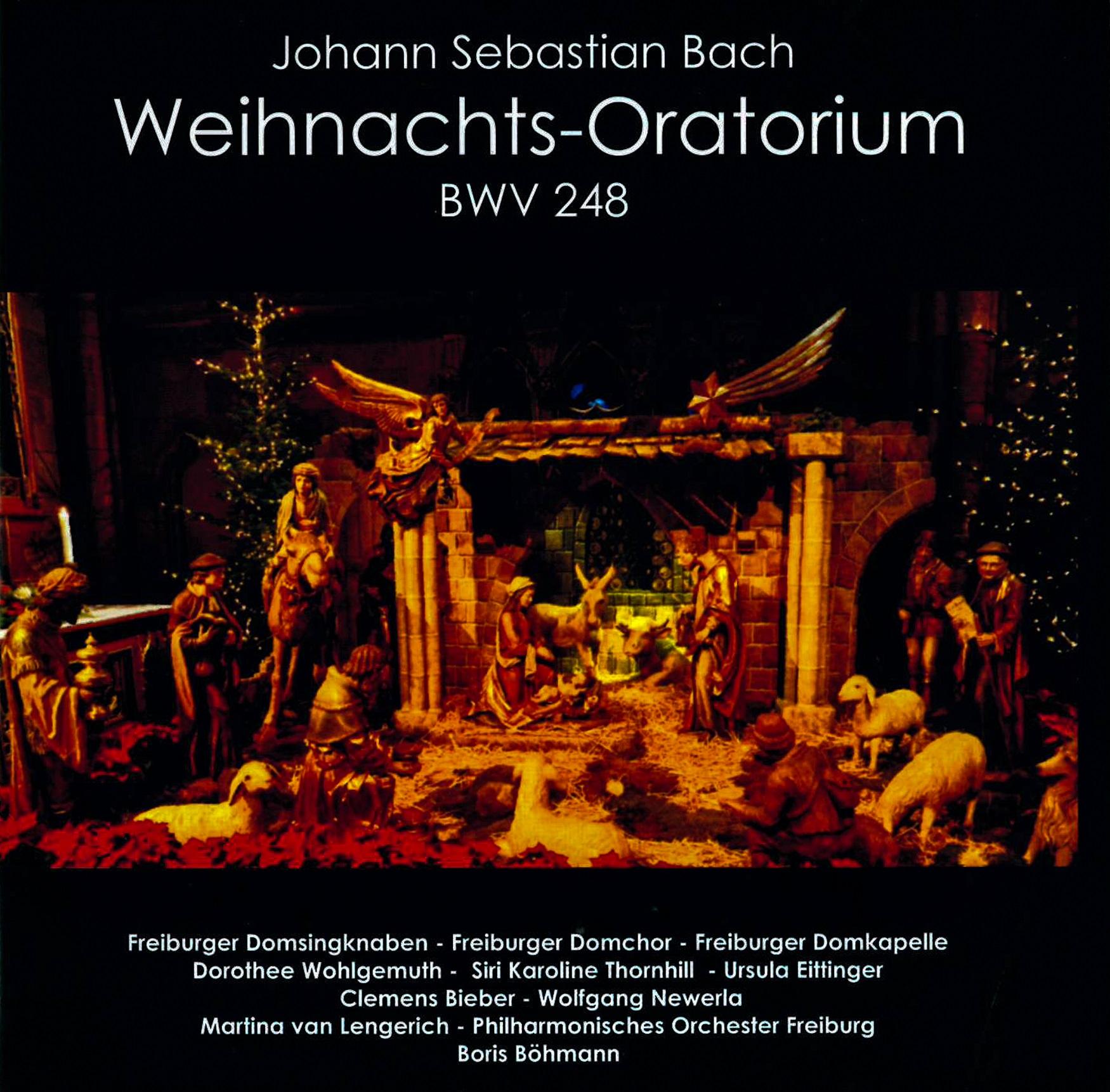 Münsterladen Freiburg Musik Geschenk CD Bach Weihnachts-Oratorium