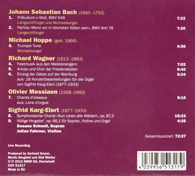 Münsterladen Freiburg CD Musik Gnann Orgelkonzerte