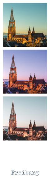 Münsterladen Freiburg Geschenk Lesezeichen Lohmüller Freiburger Münster
