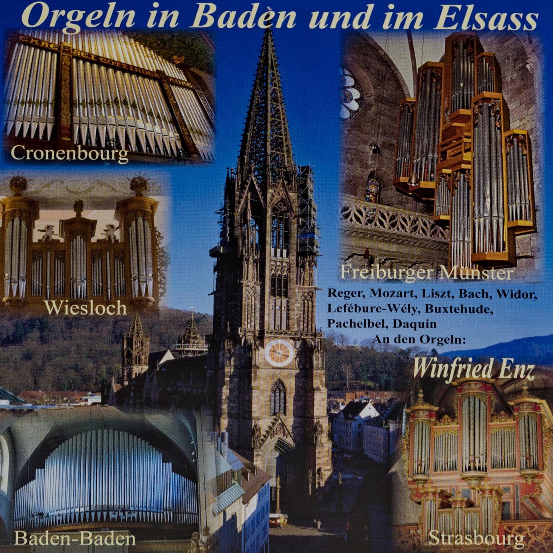 Münsterladen Freiburg CD Musik Orgeln Baden Elsass