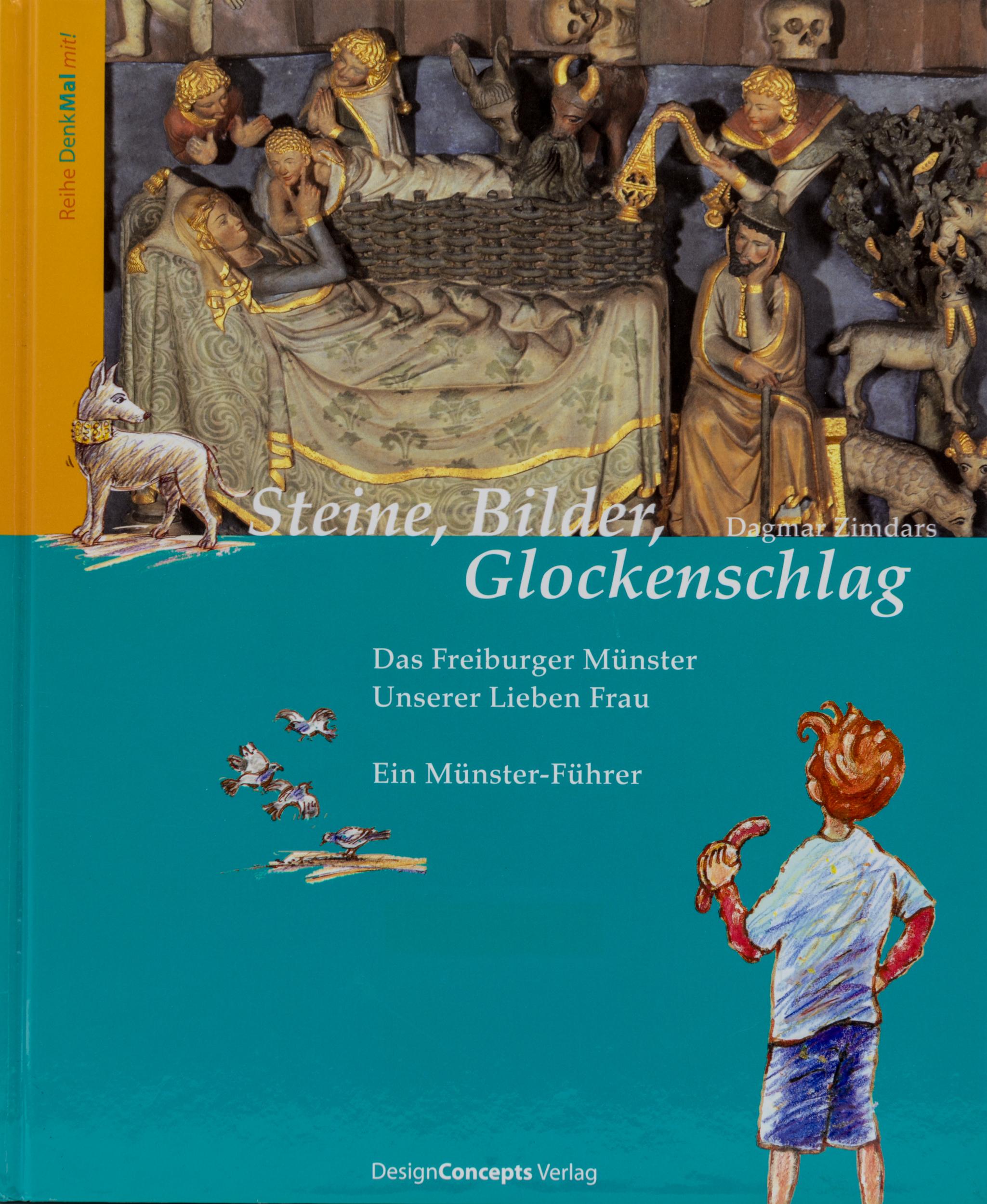Münsterladen Freiburg Buch Geschenk Steine Bilder Glockenschlag
