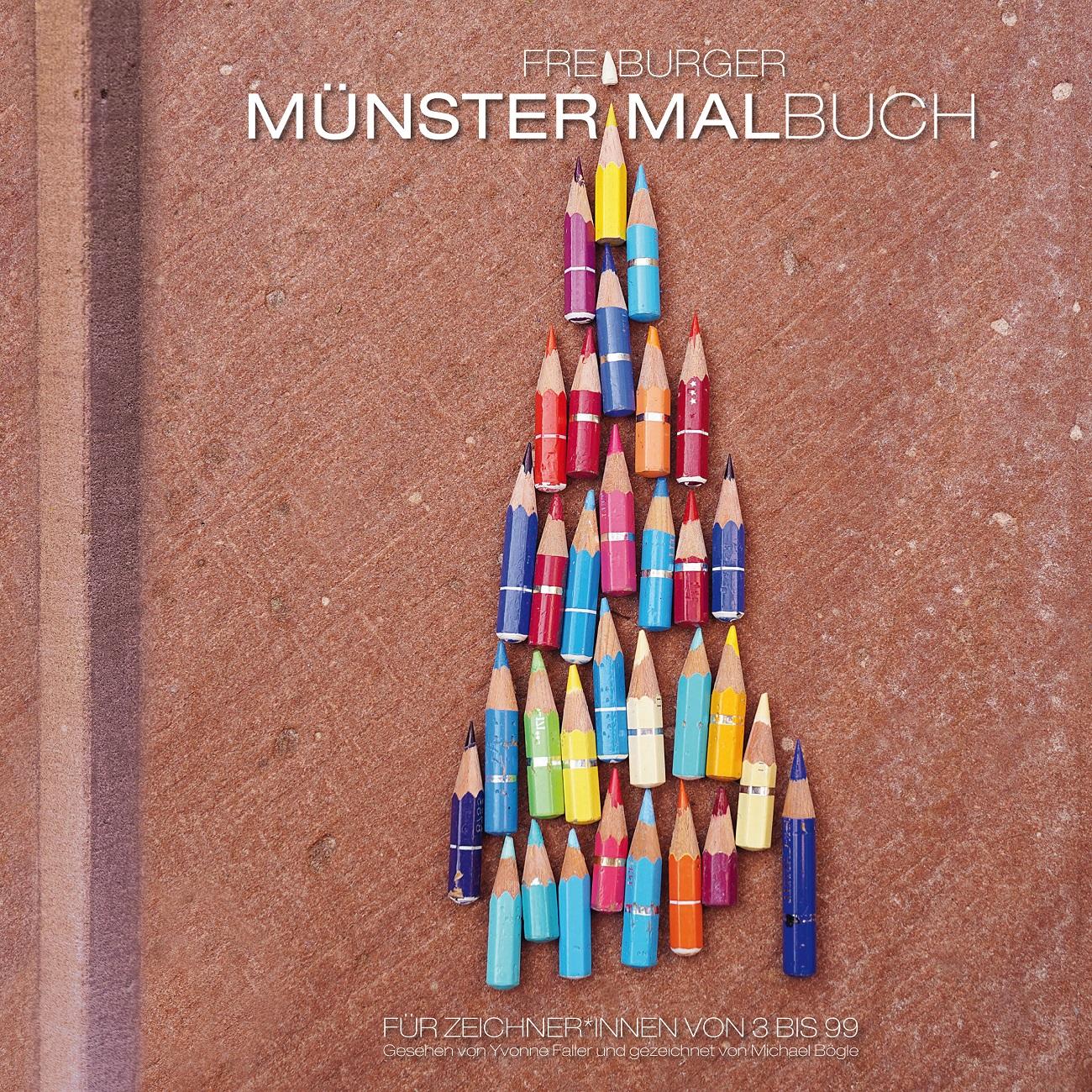 Münsterladen Freiburg Buch Freiburger Münstermalbuch