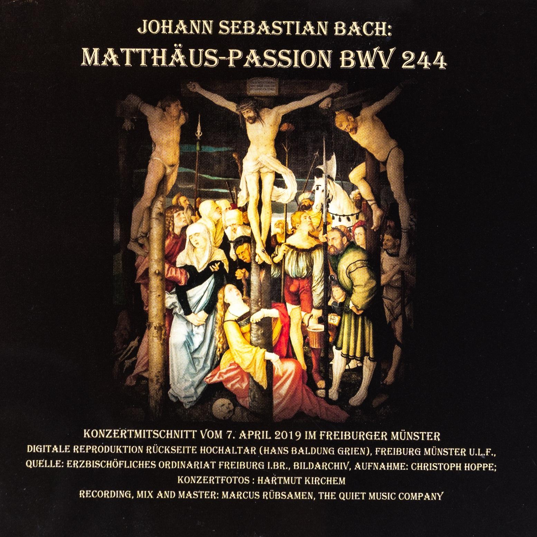 Münsterladen Freiburg CD Musik Bach Mattäus Passion